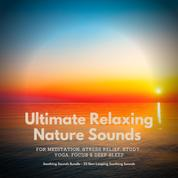 Ultimate Relaxing Nature Sounds for Meditation, Stress Relief, Study, Yoga, Focus & Deep Sleep - Soothing Sounds Bundle - 25 Non-Looping Soothing Sounds