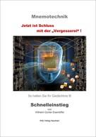 Wilhelm Günter Eisenlöffel: Mnemotechnik - Schnelleinstieg ★★★