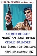Alfred Bekker: Krimi Doppelband #17