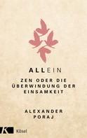 Alexander Poraj: AllEin ★★★