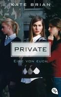 Kate Brian: Private - Eine von euch ★★★★