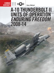 A-10 Thunderbolt II Units of Operation Enduring Freedom Part 2 2008-14