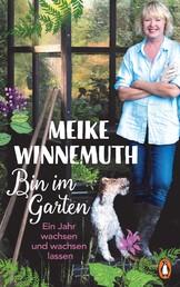Bin im Garten - Ein Jahr wachsen und wachsen lassen - Mit vielen Fotos und Illustrationen