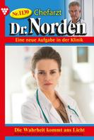 Patricia Vandenberg: Chefarzt Dr. Norden 1139 – Arztroman