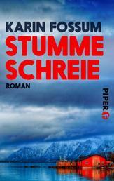 Stumme Schreie - Roman