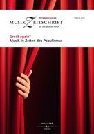 : Great again? Musik in Zeiten des Populismus