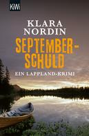 Klara Nordin: Septemberschuld ★★★★