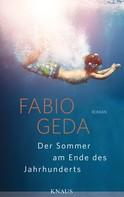 Fabio Geda: Der Sommer am Ende des Jahrhunderts ★★★★★