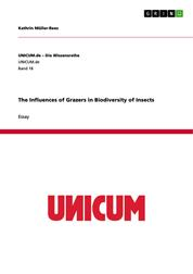 The Influences of Grazers in Biodiversity of Insects