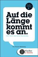 Florian Meimberg: Auf die Länge kommt es an ★★★★