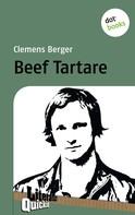 Clemens Berger: Beef Tartare - Literatur-Quickie