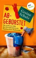 Gesine Schulz: Abgebürstet: Die sauberen Fälle der Privatdetektivin & Putzfrau Karo Rutkowsky - Band 3 ★★★★