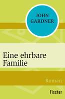 John Gardner: Eine ehrbare Familie ★★★★
