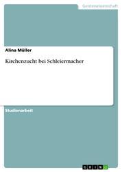 Kirchenzucht bei Schleiermacher