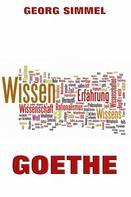 Georg Simmel: Goethe