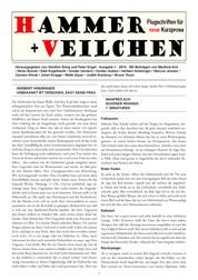 Hammer + Veilchen Nr. 1 - Flugschriften für neue Kurzprosa