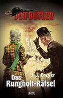J.J. Preyer: Der Butler 02: Das Rungholt-Rätsel ★★★★