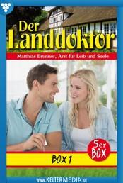 Der Landdoktor 5er Box 1 – Arztroman - E-Book 1-5