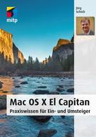 Jörg Schieb: Mac OS X El Capitan