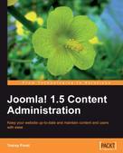 Tracey Porst: Joomla! 1.5 Content Administration