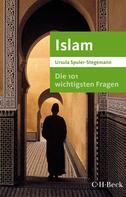 Ursula Spuler-Stegemann: Die 101 wichtigsten Fragen - Islam ★