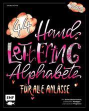 Handlettering 44 Alphabete – Für alle Anlässe – Band 3 - Mit Schmuckelementen, praktischen Vorlagen und kreativen Projekten