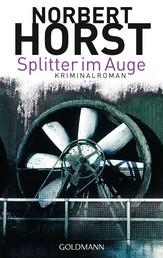 Splitter im Auge - Kriminalroman - Ein Steiger-Krimi 1 -