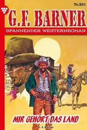 G.F. Barner 201 – Western - Mir gehört das Land