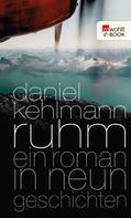 Daniel Kehlmann: Ruhm ★★★★