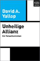 David Yallop: Unheilige Allianz ★★★★