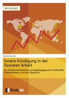 Daniel Verdecchia: Innere Kündigung in der Sozialen Arbeit