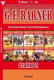 G.F. Barner Staffel 2 – Western - E-Book 11-20