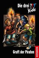 Ulf Blanck: Die drei ??? Kids, 7, Gruft der Piraten (drei Fragezeichen Kids) ★★★★★