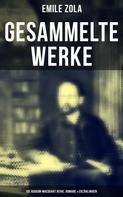 Émile Zola: Gesammelte Werke von Emile Zola: Die Rougon-Macquart Reihe, Romane & Erzählungen