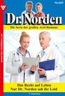 Patricia Vandenberg: Dr. Norden 669 – Arztroman ★★★★