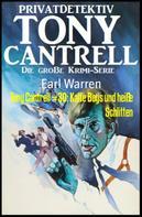 Earl Warren: Tony Cantrell #30: Kalte Boys und heiße Schlitten