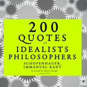 200 quotes of Idealist philosophers: Kant & Schopenhauer