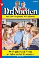 Patricia Vandenberg: Dr. Norden 673 – Arztroman ★★★