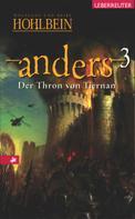 Wolfgang Hohlbein: Anders - Der Thron von Tiernan (Bd. 3) ★★★★