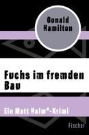 Donald Hamilton: Fuchs im fremden Bau ★★★★