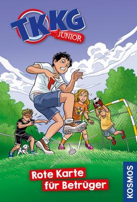 TKKG Junior, 10, Rote Karte für Betrüger