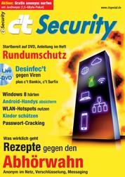 c't Security 2013 - Rundumschutz und Rezepte gegen den Abhörwahn