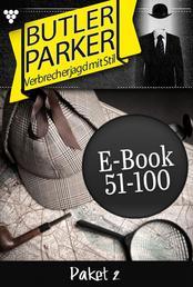 Butler Parker Paket 2 – Kriminalroman - E-Book 51-100