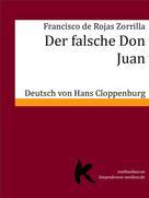 Francisco de Rojas Zorrilla: DER FALSCHE DON JUAN
