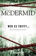 Val McDermid: Wen es trifft... ★★★