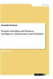 Projektcontrolling und Business Intelligence. Dimensionen und Techniken