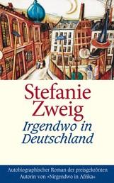 Irgendwo in Deutschland - Autobiographischer Roman