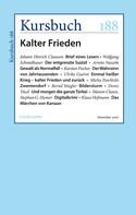 Peter Felixberger: Kursbuch 188