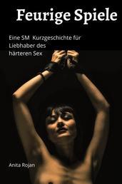Feurige Spiele - Eine SM Kurzgeschichte für Liebhaber des härteren Sex