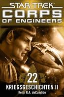 Keith R.A. DeCandido: Star Trek - Corps of Engineers 22: Kriegsgeschichten 2 ★★★★